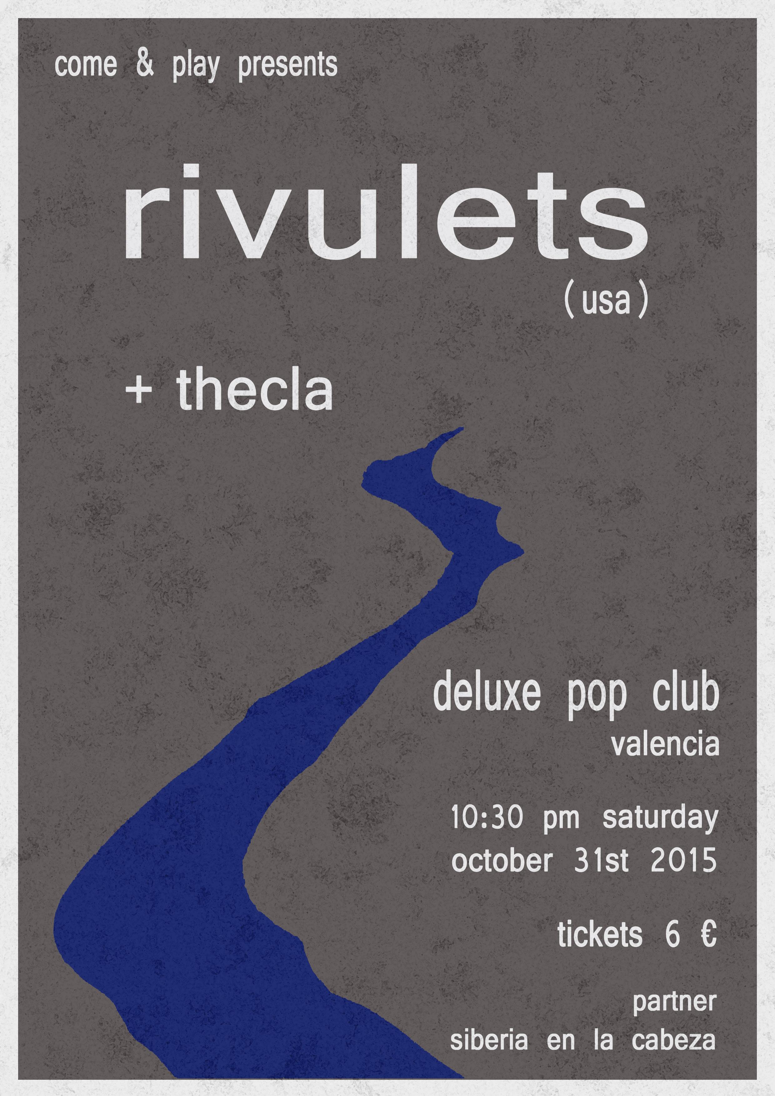 RIVULETS + THECLA