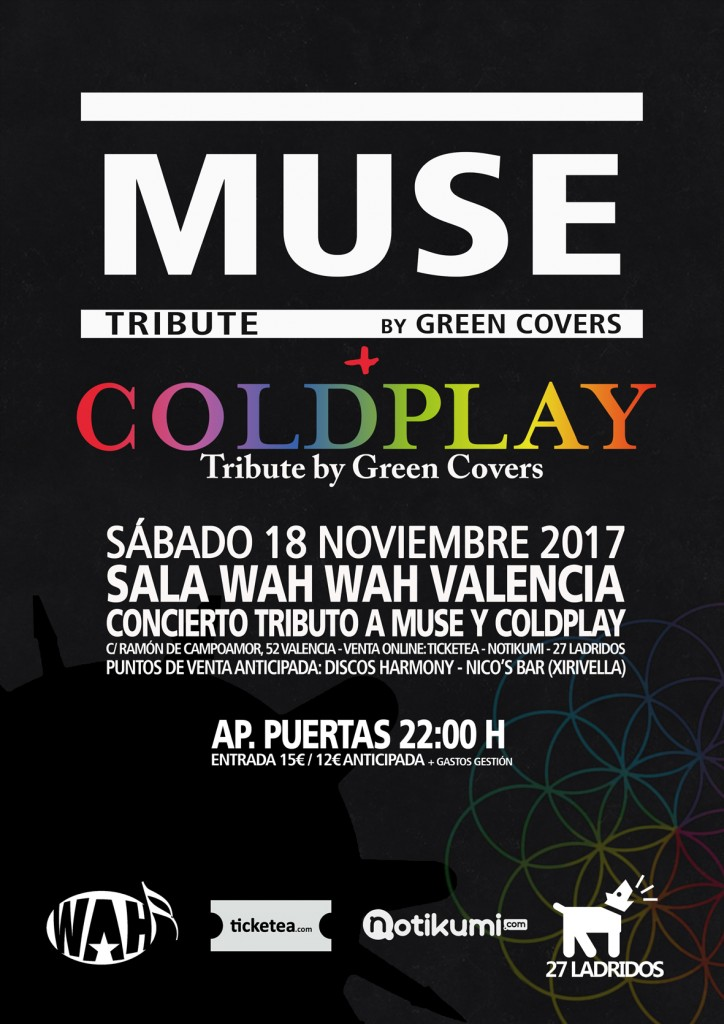 muse coldplay tribute green covers valencia