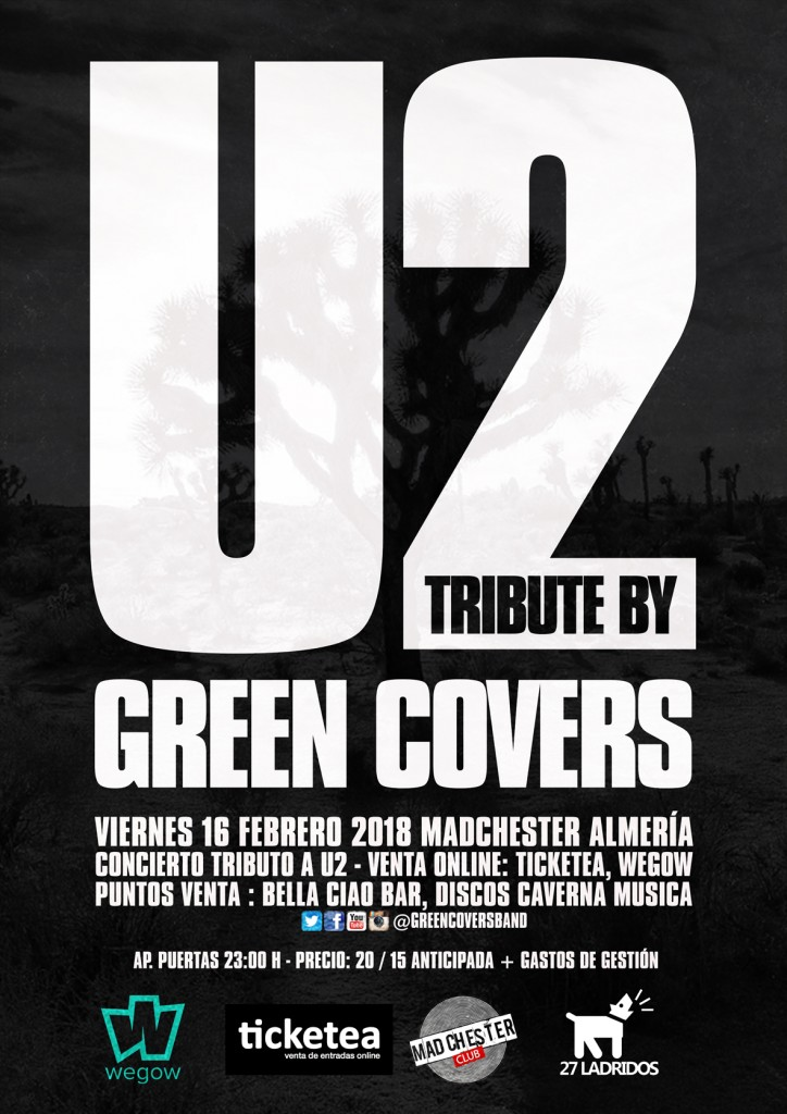 GREEN COVERS U2 ALMERIA