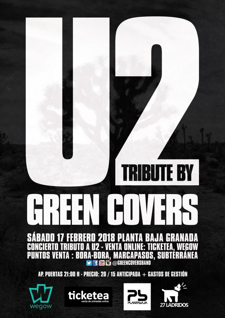 green covers u2 granada