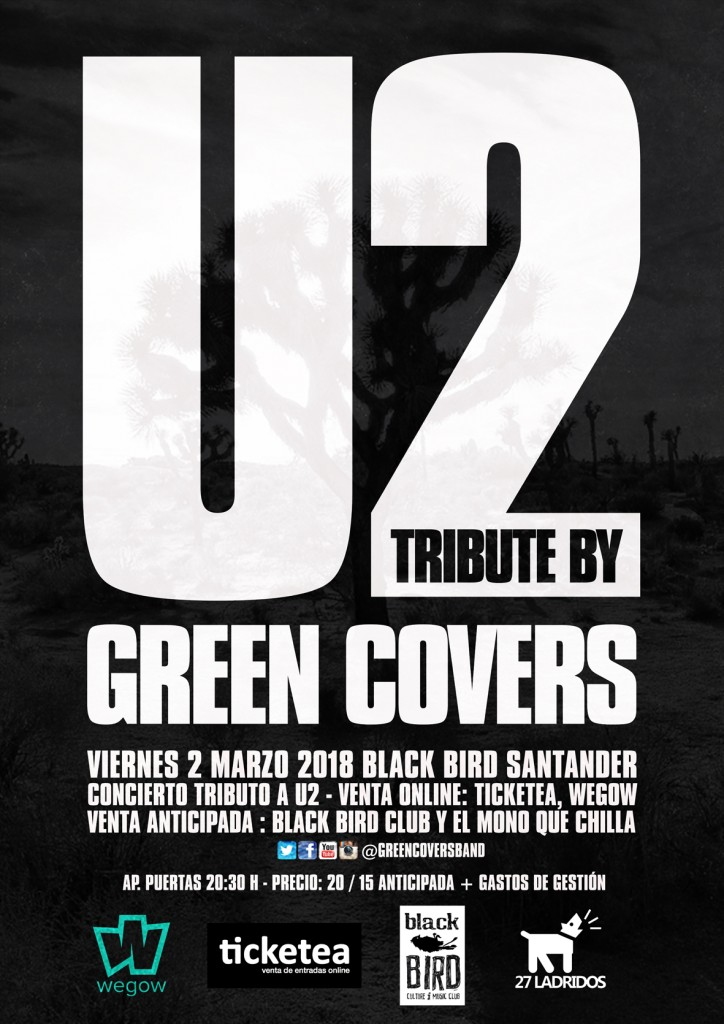 green covers u2 santander