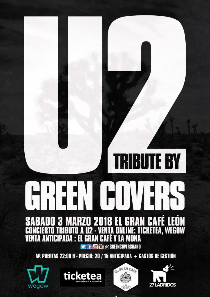 green covers u2 león